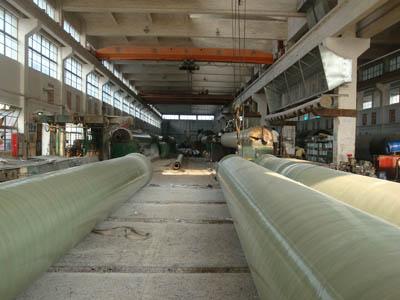 玻璃钢管道生产线