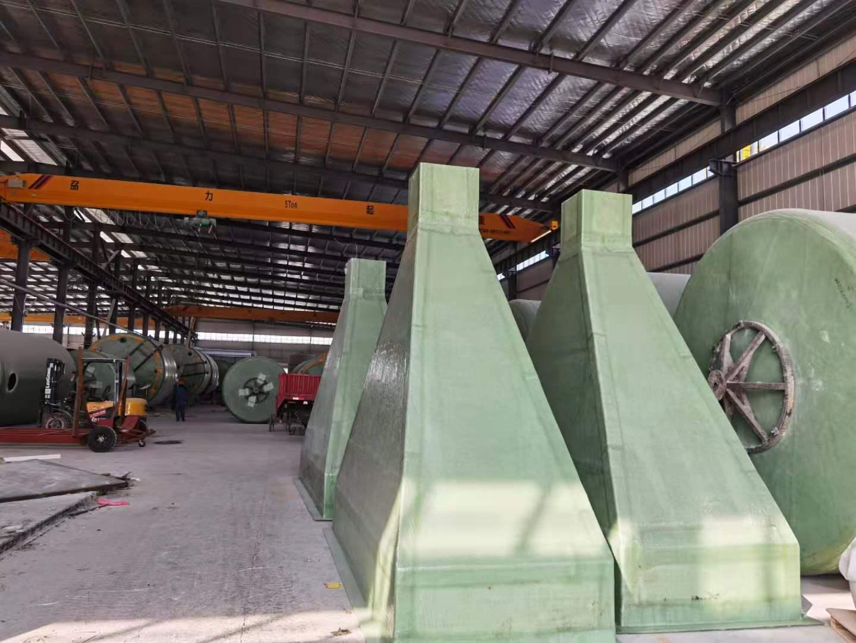 固腾环保与广西桂林某公司签订一批玻璃钢异型产品